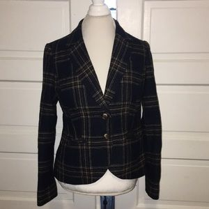 Boden British Tweed Blazer 10